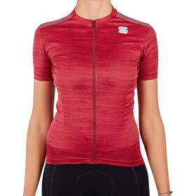 Sportful Supergiara Maglietta Donna, rosso